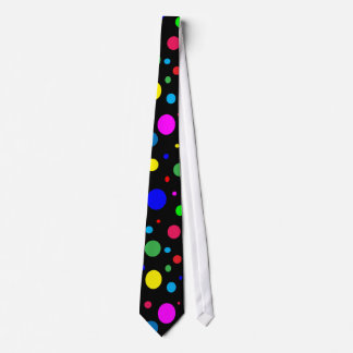 Cheerful Color Circles Tie