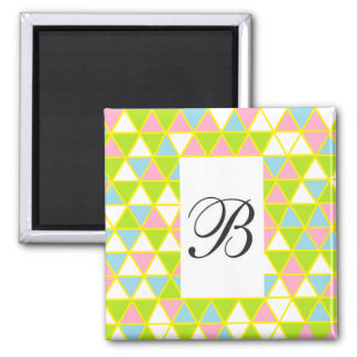 cheerful, colorful, magnet B!