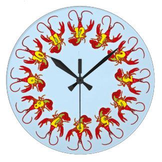 Cheerful Crayfish Clock
