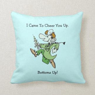 Cheerful Doctor American MoJo Pillows