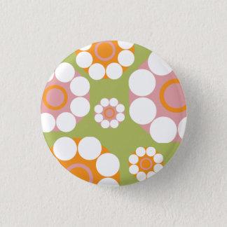 Cheerful Flower Button
