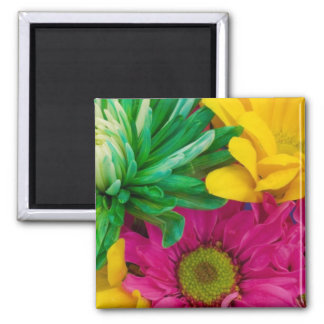 Cheerful Flowers Magnet