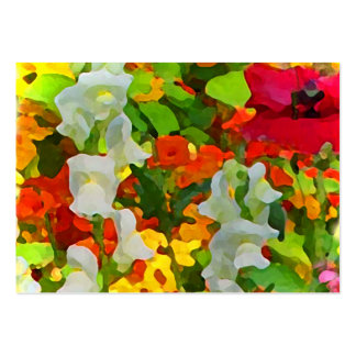 Cheerful Garden Colors ATC Pack Of Chubby Business Cards