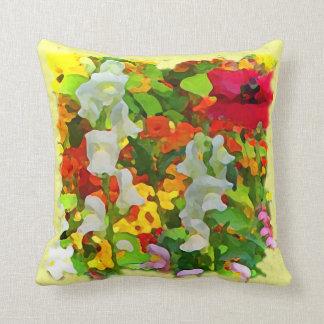 Cheerful Garden Colors Cushion