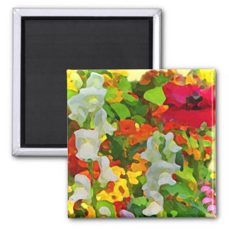 Cheerful Garden Colors Magnet