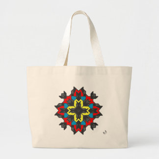 Cheerful Large Tote Bag