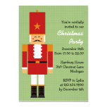 Cheerful Nutcracker Christmas Party Personalized Invites