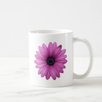 Cheerful Pink Flower Coffee Mug