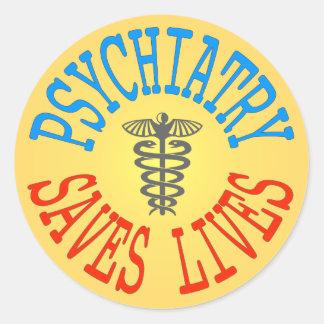 Cheerful Pro-Psychiatry Sticker