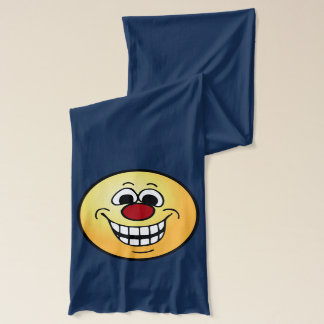 Cheerful Smiley Face Grumpey Scarf