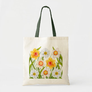 Cheerful Spring Daffodils Tote Bag