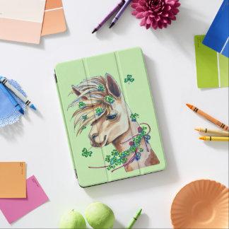 cheerful spring llama iPad air cover