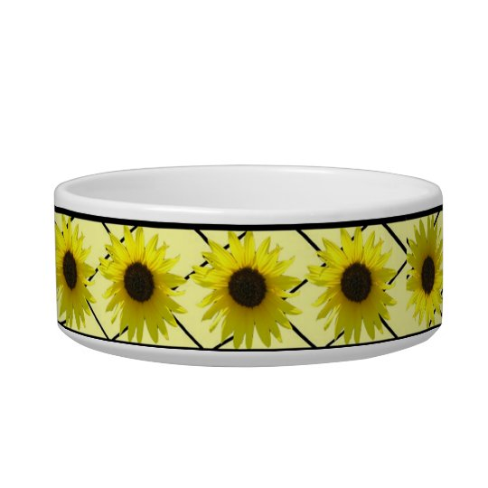 Cheerful Sunflower Bowl