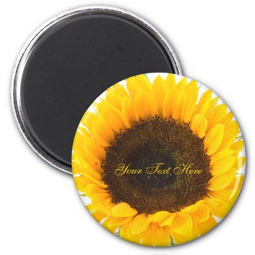 Cheerful Sunflower Magnet