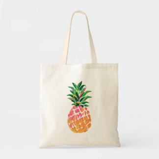 Cheerful Tropical Hawaiian Pineapple Tote Bag