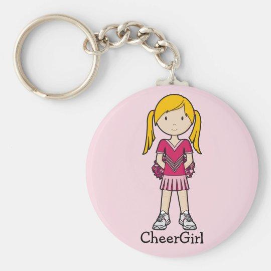 CheerGirl Key Ring