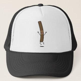 Cheering Jumping Churro Trucker Hat