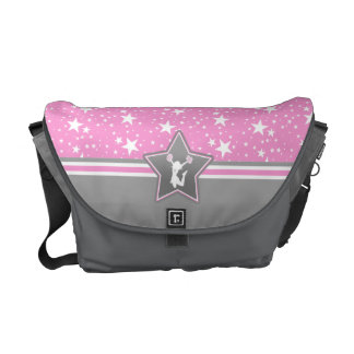 Cheerleader Among the Stars in Pink Commuter Bags