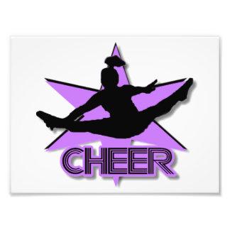 Cheerleader Art Photo