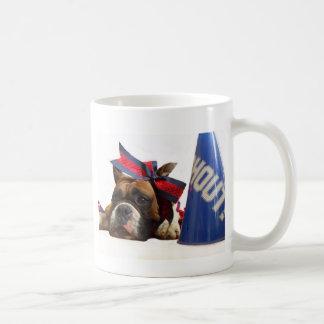 Cheerleader boxer mug