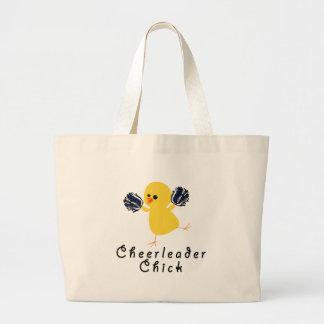 Cheerleader Chick Jumbo Tote Bag