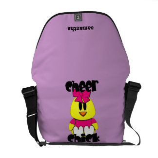 Cheerleader Chick Messenger bag