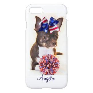 Cheerleader Chihuahua dog iphone 7 case