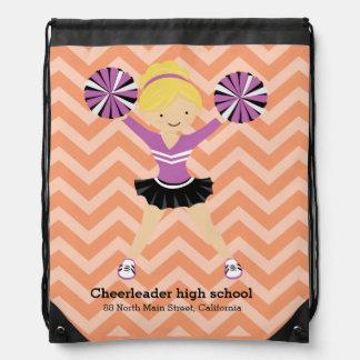 Cheerleader, choose your own background color rucksacks