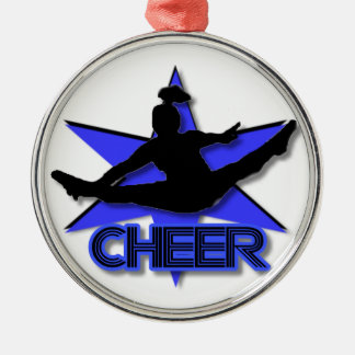 Cheerleader Christmas ornament