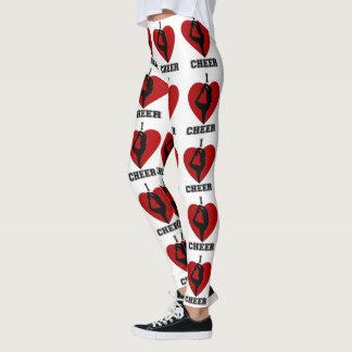 cheerleader design pattern  leggings