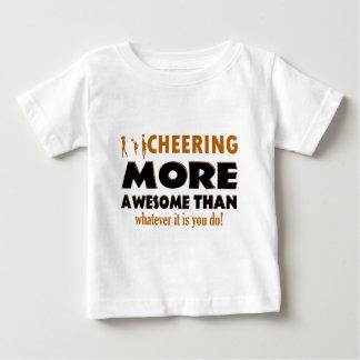 Cheerleader designs infant T-Shirt