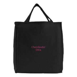 Cheerleader Diva Canvas Bags
