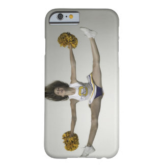 Cheerleader doing splits in mid air barely there iPhone 6 case