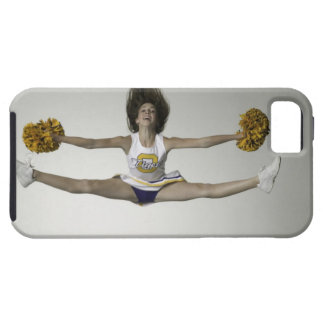 Cheerleader doing splits in mid air iPhone 5 cases