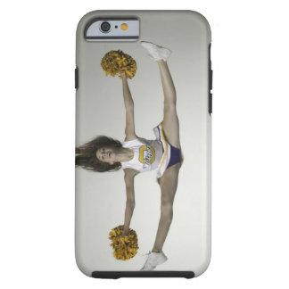 Cheerleader doing splits in mid air tough iPhone 6 case