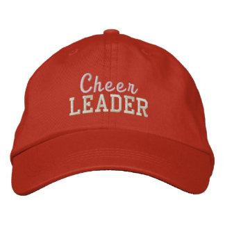 Cheerleader embroidered hat