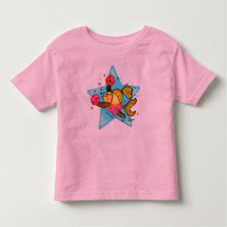 Cheerleader Fish cute funny sparky comics Cheer Shirts