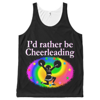 CHEERLEADER FOREVER DESIGN All-Over PRINT TANK TOP