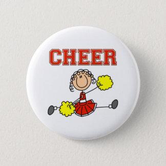 Cheerleader Gift 6 Cm Round Badge