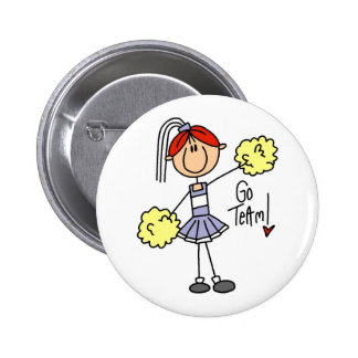 Cheerleader Gift Buttons