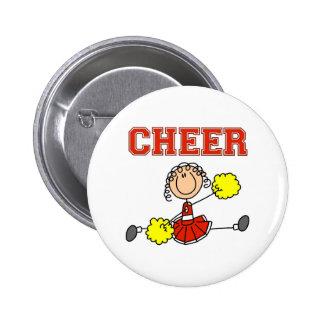 Cheerleader Gift Pinback Buttons