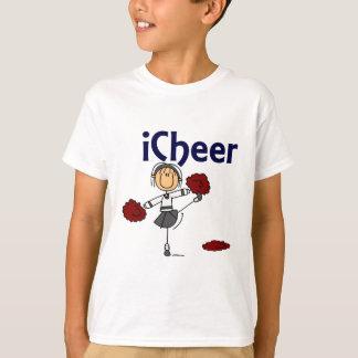 Cheerleader I Cheer Stick Figure T-Shirt