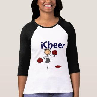 Cheerleader I Cheer Stick Figure Tshirt
