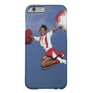 Cheerleader in mid-air barely there iPhone 6 case