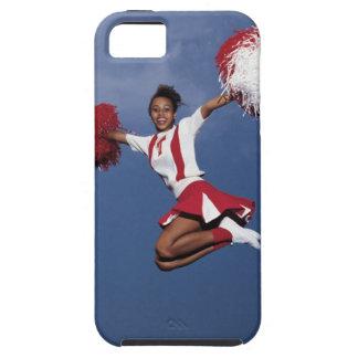 Cheerleader in mid-air iPhone 5 covers