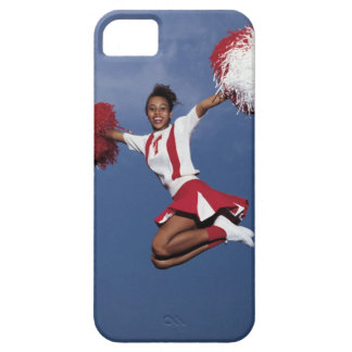 Cheerleader in mid-air case for the iPhone 5