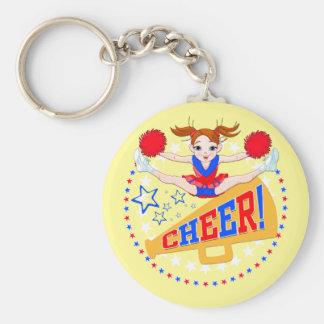 Cheerleader keyring
