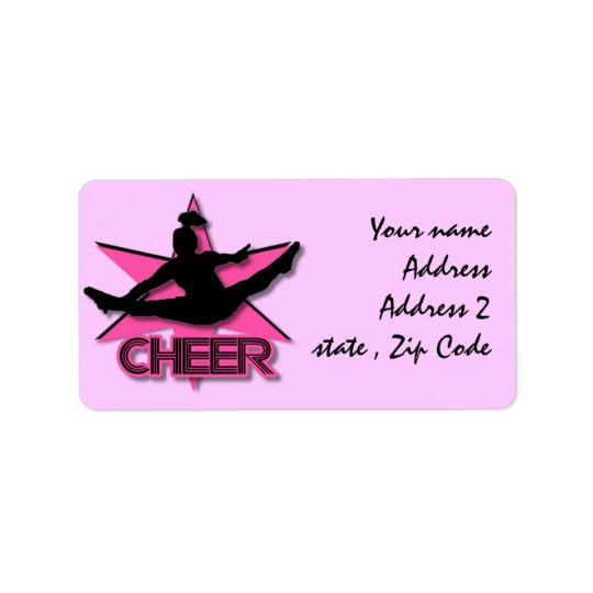 Cheerleader Label