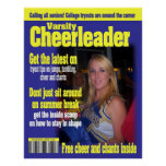 cheerleader magazine cover poster size