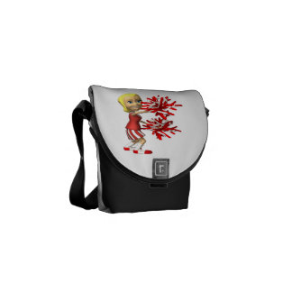 Cheerleader Messenger Bag